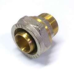 муфта с резьбой для металлопластиковых труб