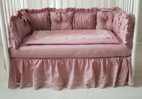 Комплект в кроватку, на 4 стороны кроватки