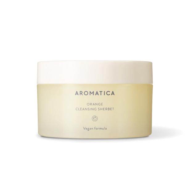 Щербет для снятия макияжа Aromatica Orange Cleansing Sherbet 180 г.