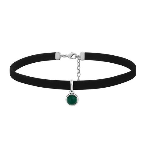 Чокер Green Agate B0111.17 G/S