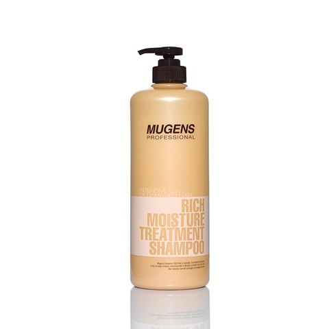 WELCOS Mugens Шампунь для волос Mugens Rich Moisture Treatment Shampoo 1000g