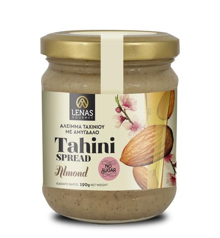 Тахини из миндаля LENAS gourmet 190 гр
