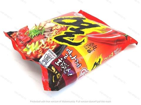Корейская пшеничная лапша со вкусом свинины Yeul ramen, 120 гр.