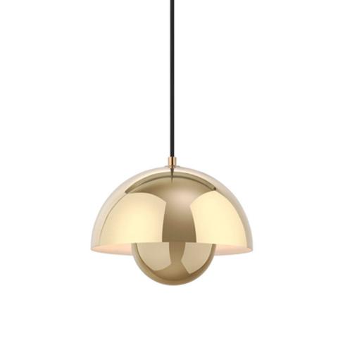 Подвесной светильник копия Flowerpot by Verpan Panton (золотой)