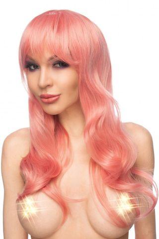 Розовый парик  Сэкера