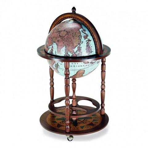 Глобус-бар напольный «Карта мира»