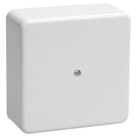 Коробка распаячная КР 100х100х44 ОП белая IP40 TDM