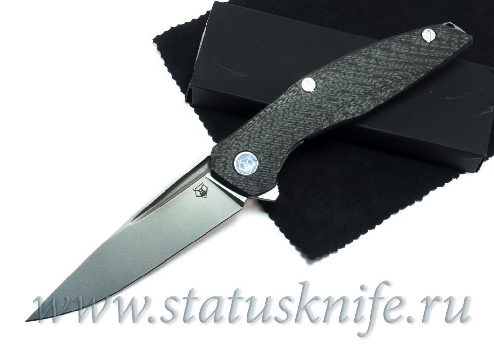 Нож Широгоров 111 S90V Долы Карбон 3D MRBS