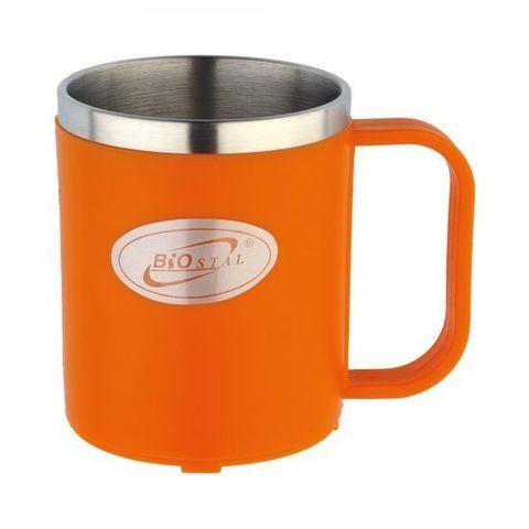 Кружка Biostal Flër (0,2 литра), оранжевая