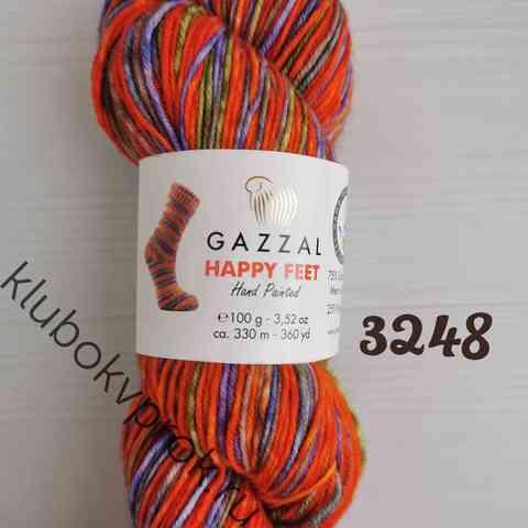 GAZZAL HAPPY FEET 3248, Оранжевая радость