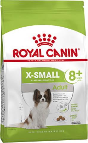 Royal Canin X-small Adult 8+ сухой корм для собак миниатюрных пород от 8 до 12 лет
