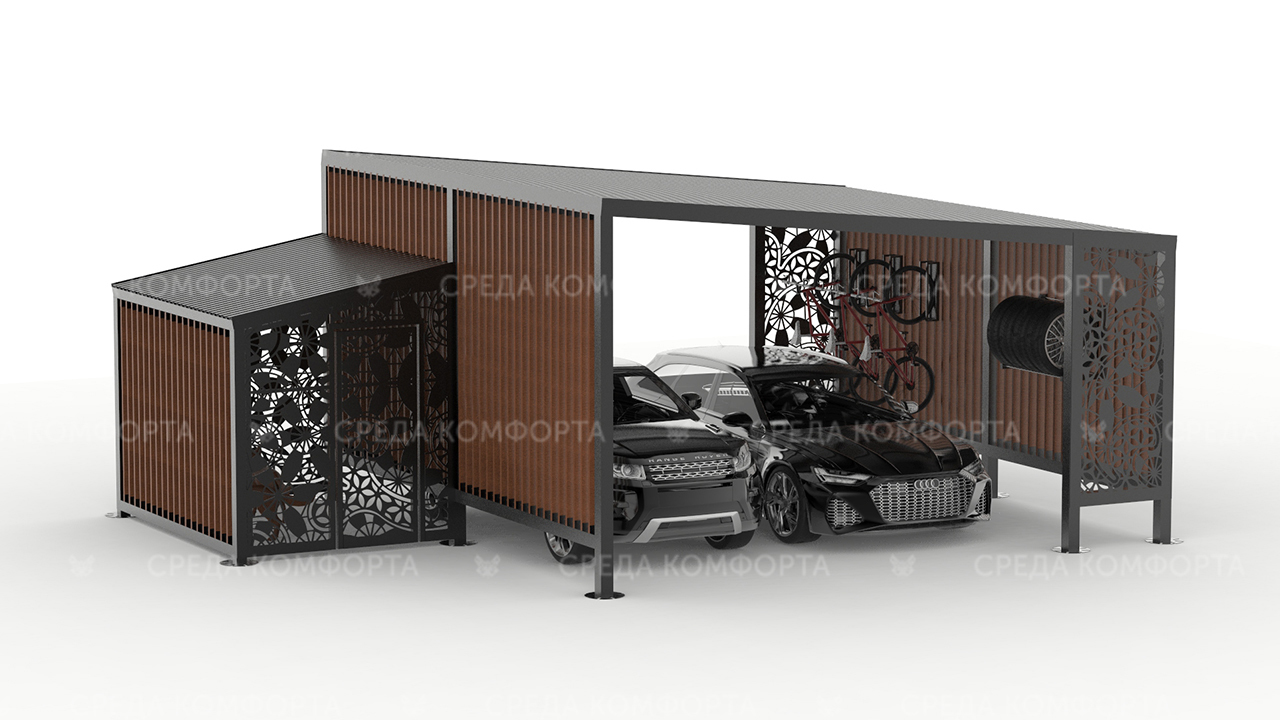 Навес для автомобиля AVNVS0065