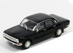 GAZ-24 Volga black 1:43 DeAgostini Auto Legends USSR Best #16