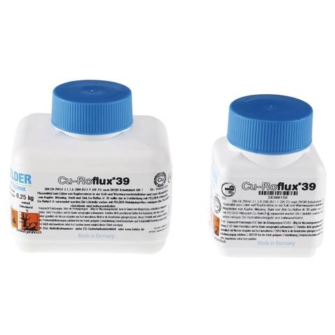 Флюс жидкий в банке с кисточкой для мягкого припоя Cu-Roflux®39 FELDER 250г
