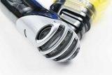 Трубка AquaLung Zephyr (черный силикон)
