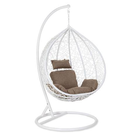 Подвесное кресло Z-10 (цвет white, подушка beige)