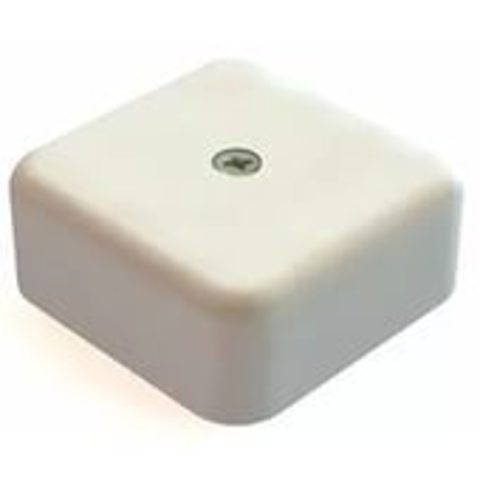 Коробка распаячная КР 50х50х20 ОП белая IP40 TDM