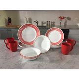 Тарелка закусочная 22 см Brushed Red, артикул 1118421, производитель - Corelle, фото 2