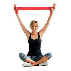 Эластичная фитнес-лента Суперэластик, нагрузка до 4,6 кг
