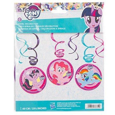 Спираль My Little Pony 46-60см 6шт/A