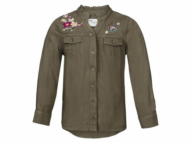 Рубашка для девочки Lupilu