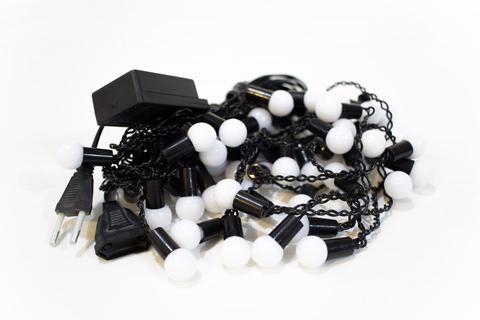 Светодиодная гирлянда шарики LED штора