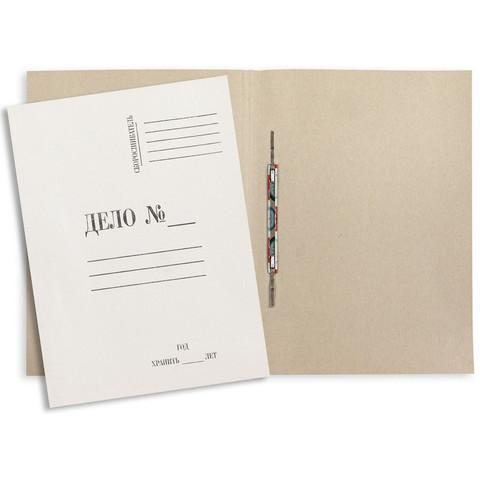 Скоросшиватель картонный Attache Дело № А4 до 200 листов белый (плотность 280 г/кв.м)