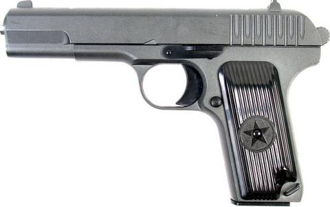 Cтрайкбольный пистолет Galaxy G.33 ТТ, металлический, пружинный