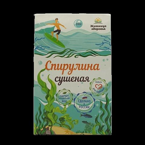 Спирулина сушеная ЖИТНИЦА ЗДОРОВЬЯ, 100 гр