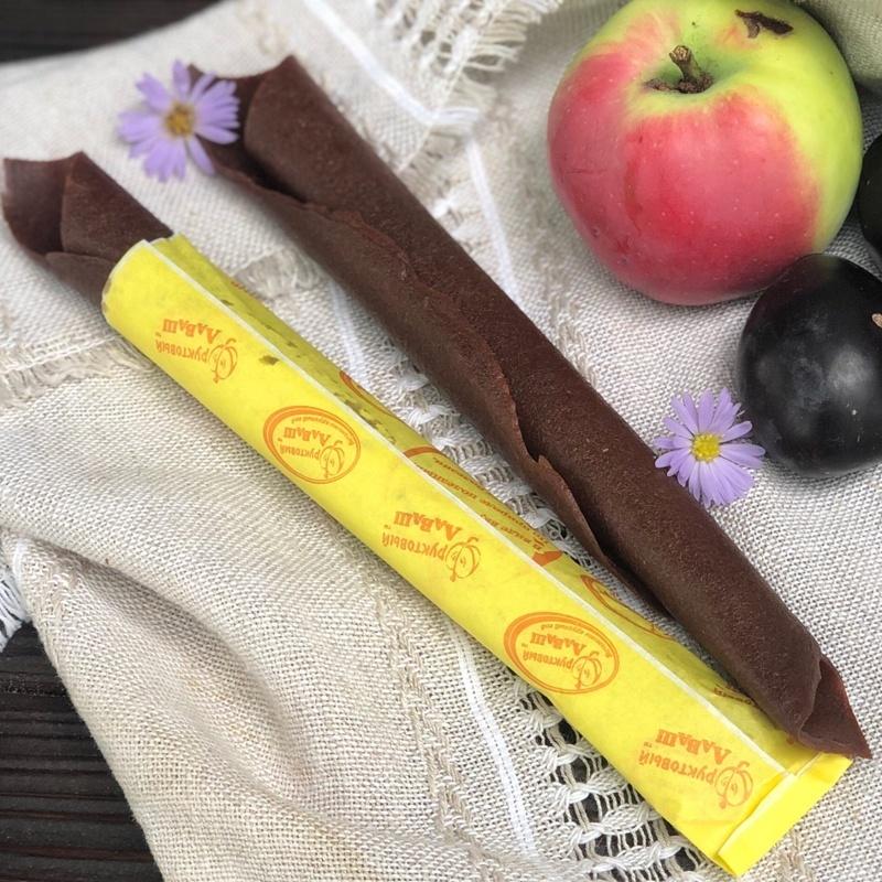 Фотография Пастила натуральная яблочно-персиковая 70 грамм купить в магазине Афлора