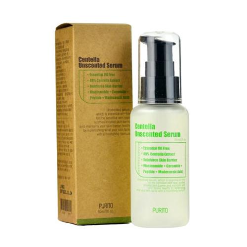 Сыворотки для лица Сыворотка для лица с центеллой PURITO Centella Unscented Serum 60 мл. purito-unscented-serum.jpg
