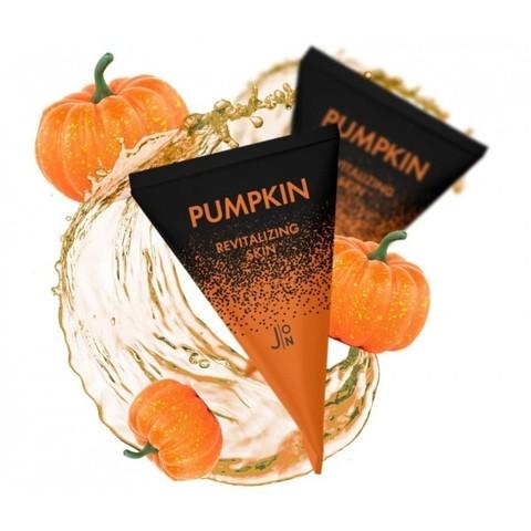 Ночная маска с тыквой для биоревитализация кожи J:ON Pumpkin Revitalizing Skin Sleeping Pack