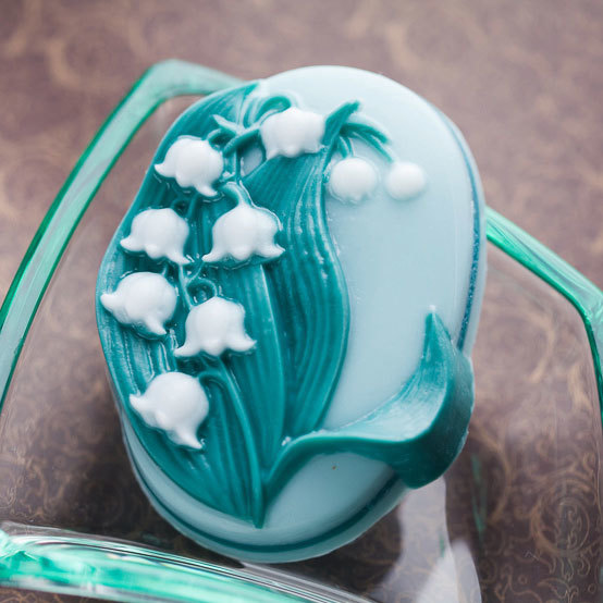 Мыло Ландыш. Пластиковая форма