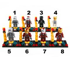 Minifigures Iron Man Blocks Building Series 01