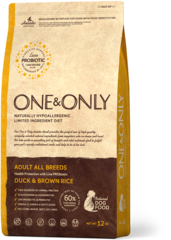 Сухой корм One&Only Duck & Brown Rice All Breeds