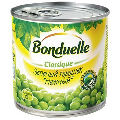 Зеленый горошек Bonduelle 400гр