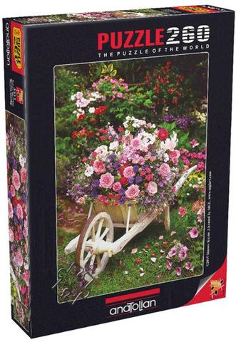 Puzzle Bahçe Çiçekleri. Garden Flowers 260 pcs
