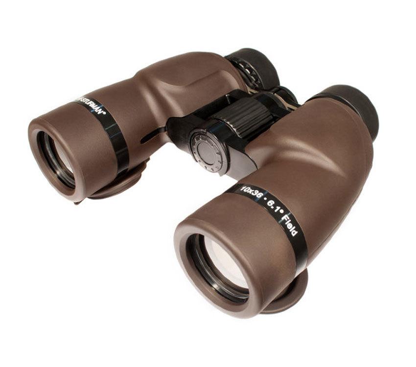 Бинокль Sturman 10x36 коричневый - фото