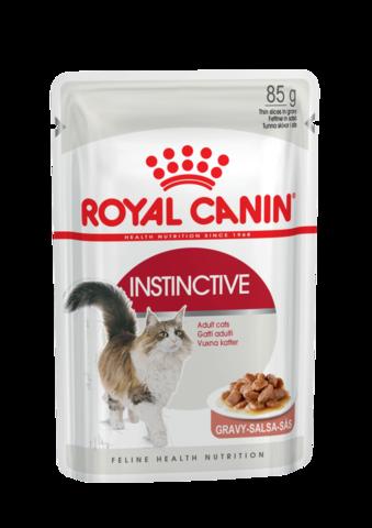 Royal Canin Instinctive пауч для кошек в соусе 85г