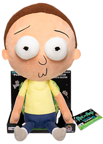 Игрушка Funko Galactic Plushies: Rick and Morty - Morty Worried 16
