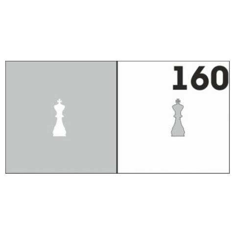 Трафарет для ногтей 6 шт. /1 уп. №160