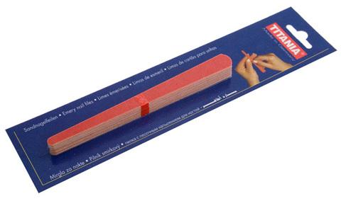 Песочные пилочки Titania 1042/10В (15см, 10шт)
