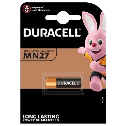 Батарейки Duracell 27A, 12V (1/10) BL