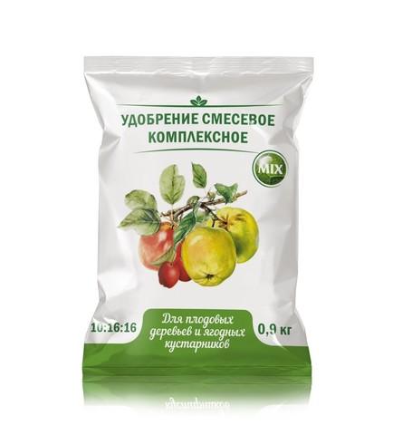 Удобрение для плодовых деревьев и ягодных культур 0,9кг