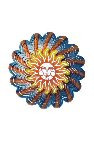 Ветряной спиннер Солнце 25см (Iron Stop)