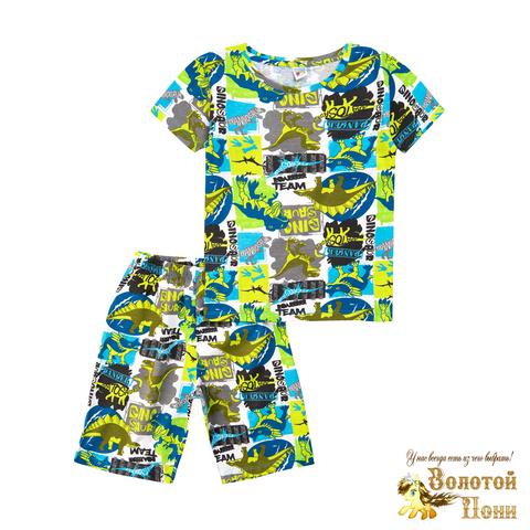 Пижама хлопок мальчику (3-7) 210805-MD59059