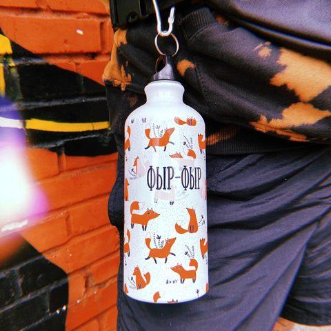 Бутылка фыр фыр с лисичками