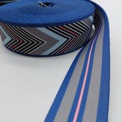 Cтропа широкая цветная для ремней  на сумки и рюкзаки 5 см.
