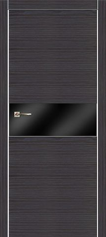 Дверь Мегаполис Г1 (блэк, глухая наношпон), фабрика Зодчий
