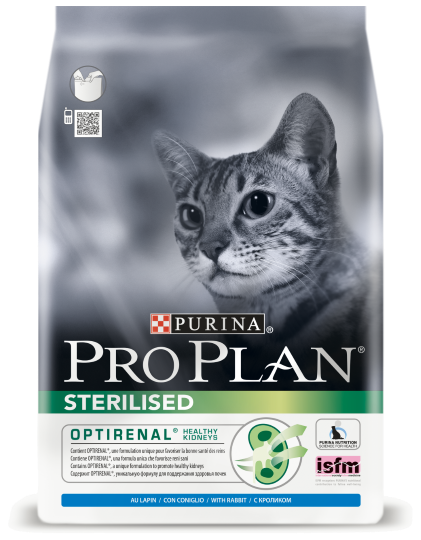 Purina PRO PLAN Sterilised с кроликом 400 гр